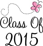 Pink Grad Class Of 2015 T-shirts