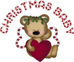 Heart Bear Christmas Baby Gifts and Tees
