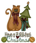 Purrfect Christmas Cat Gifts and Apparel