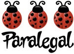 Paralegal Ladybug T-shirts and Gifts