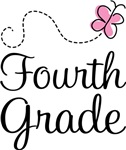 Fourth Grade Butterfly T-shirts and Gifts