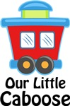 Our Little Caboose Baby T-shirts and Shower Gifts