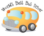 World's Best School Bus Driver T-shirts