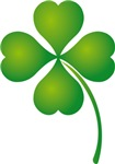 Irish Lucky Four Leaf Clover T-shirts