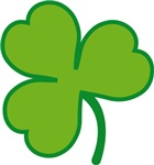 Pretty Irish Shamrock Clover T-shirts and Gifts