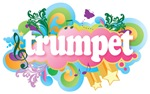 Retro Trumpet Music Gifts and Tees