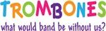 Funny Rainbow Trombone Band T-shirts