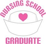 Pink Nursing School Graduate Gifts and Tees