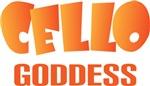 Funny CelloGoddess T-shirts and Gifts