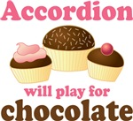 Chocolate Accordion Music T-shirt Gifts