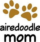Cute Airedoodle Mom T-shirts and Gifts