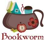 Bookbag Bookworm Mugs and Apparel