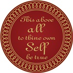 To Thine Own Self Be True Shakespeare Quote Gifts