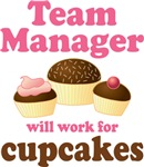 Funny Team Manager T-shirts and Gifts
