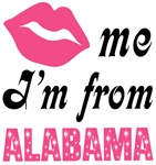 Kiss Me Im From Alabama T shirts and Gifts