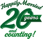 20 Years Anniversary Gifts and T-shirts