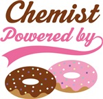 Chemist Powered By Doughnuts Gift T-shirts