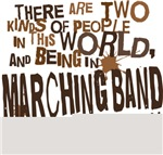 Funny Marching Band T-shirts and Gifts