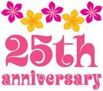 25th Anniversary Gift Hawaiian Themed