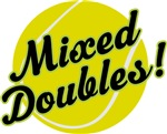 Tennis Mixed Doubles T-shirts and Gifts