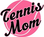 Fun Pink Tennis Mom T-shirts and Gifts