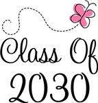 Pink Future Grad Class Of 2030 Apparel