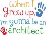 Future Architect Kids T-shirts