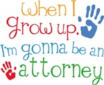 Future Attorney Kids T-shirts