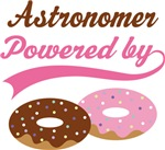 Astronomer Powered By Doughnuts Gift T-shirts
