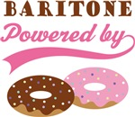 BARITONE POWERED BY DONUTS T-shirts