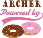 Archer Powered By Doughnuts Gift T-shirts