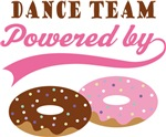 Dance Team Powered By Donuts Gift T-shirts