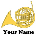 PERSONALIZED FRENCH HORN MUSIC GIFTSI