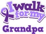 WALK FOR GRANDPA ALZHEIMER'S T-SHIRTS