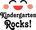 Kindergarten Rocks Teacher and Student T-shirts