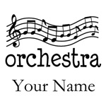 PERSONALIZED ORCHESTRA T-SHIRTS