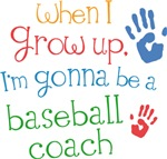 Future Baseball Coach Kids T-shirts