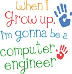 Future Computer Engineer Kids T-shirts