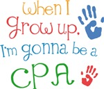 Future Cpa Kids T-shirts