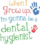 Future Dental Hygienist Kids T-shirts