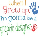 Future Graphic Designer Kids T-shirts