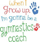 Future Gymnastics Coach Kids T-shirts