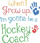 Future Hockey Coach Kids T-shirts
