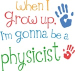 Future Physicist Kids T-shirts