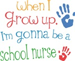Future School Nurse Kids T-shirts