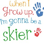 Future Skier Kids T-shirts