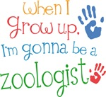 Future Zoologist Kids T-shirts