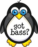 Bass Music Penguin T-shirts and Gifts