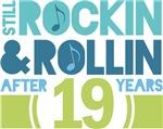 19th Anniversary Rock N Roll Tshirts