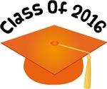 2016 School Class Graduation (Orange)